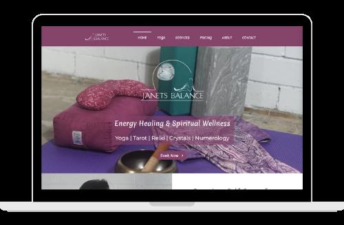 Janets Balance Website