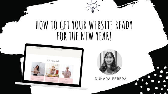 Getting Your Website Ready For The New Year