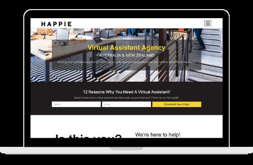 Happie Solutions Website