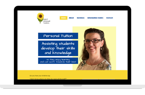 EQLIT Personal Tuition Website