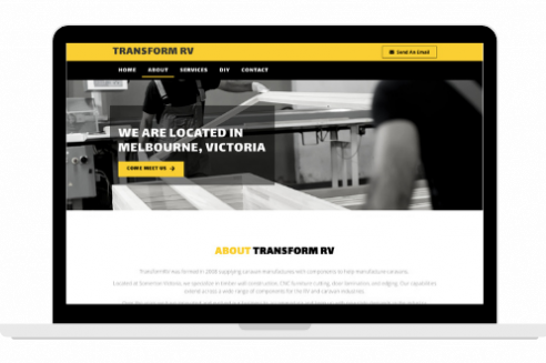 TransformRV Website